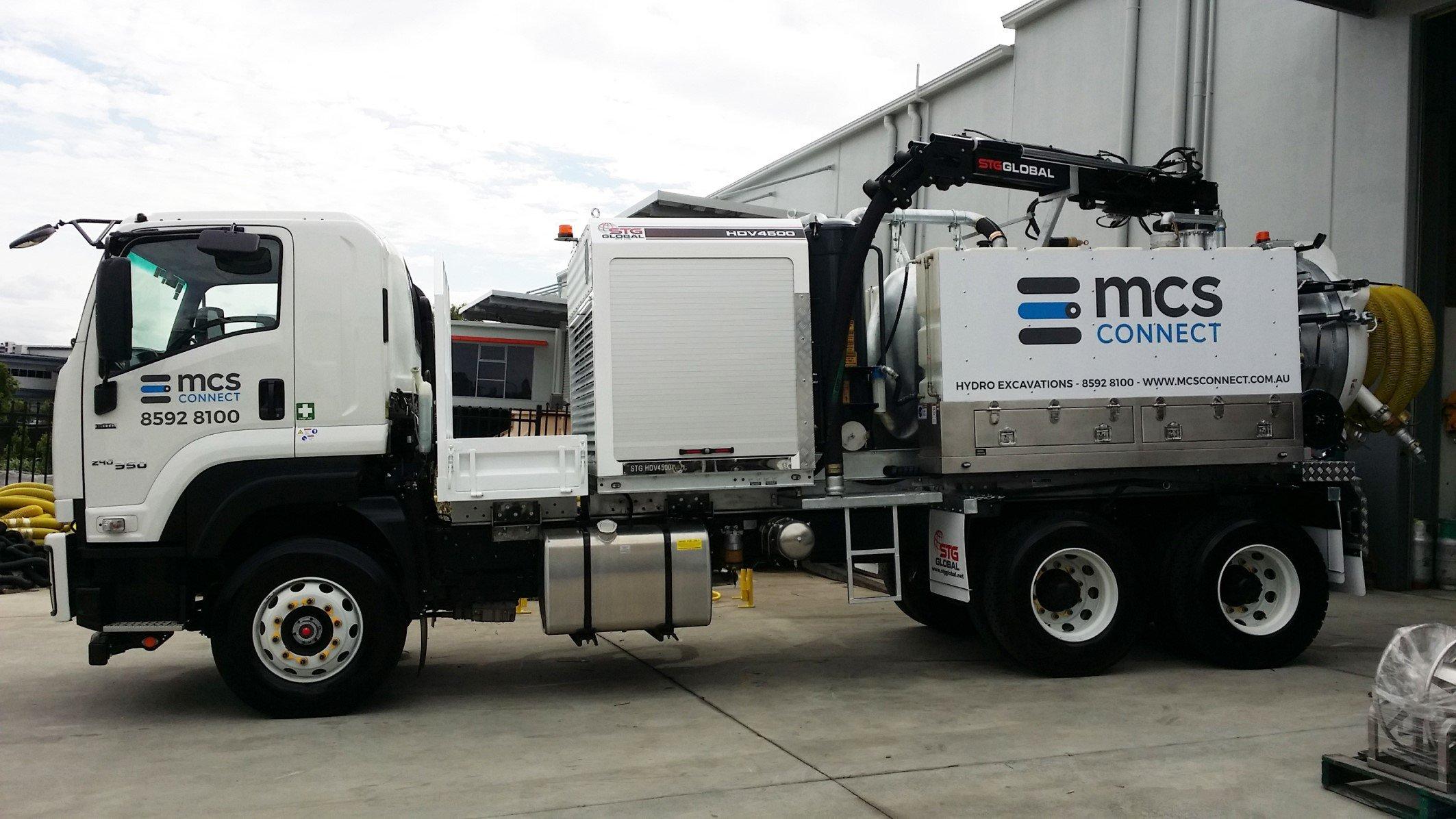 Vac truck - new